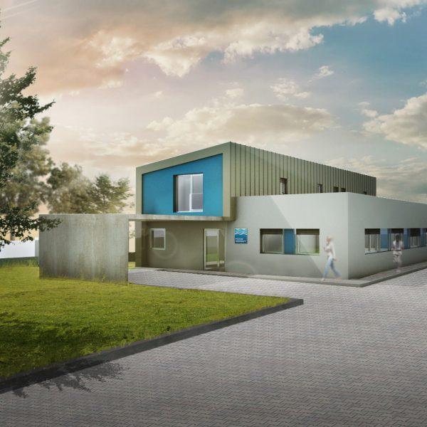 Novostavba VH laboratoří v Uherském Hradišti