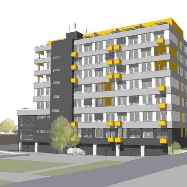 Rekonstrukce administrativní budovy na BD